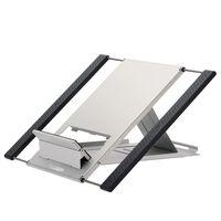 NewStar Przenośny stojak do laptopa i tabletu, 10-22'', srebrny