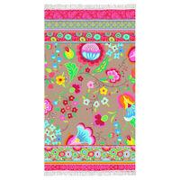 Happiness Ręcznik plażowy KALOCSAI, 100x180 cm, kolorowy