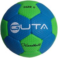 GUTA Piłka ręczna do gry na hali i na zewnątrz, rozmiar 0