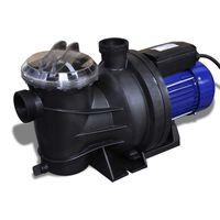 vidaXL Elektryczna pompa basenowa, 800 W, niebieska