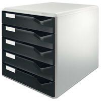 Leitz Biurkowy organizer, 5 szuflad, czarny