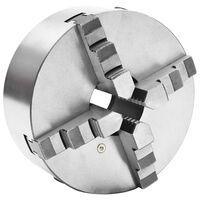 vidaXL Samocentrujący uchwyt tokarski, 4 szczęki, 200 mm, stal