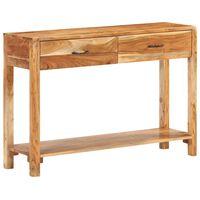 vidaXL Szafka, 110x30x75 cm, lite drewno akacjowe
