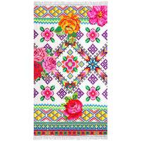 Happiness Ręcznik plażowy YUCATAN, 100x180 cm, kolorowy