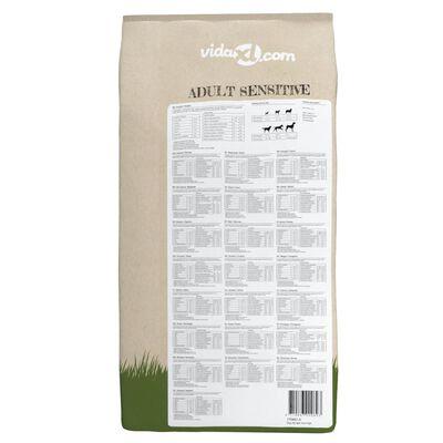 vidaXL Sucha karma dla psów Adult Sensitive Lamb & Rice, 2 szt., 30 kg