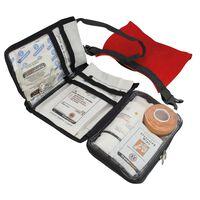 Travelsafe 43-cz. zestaw pierwszej pomocy Globe Waterproof, czerwony