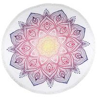 HIP Ręcznik plażowy 2069-H Mirazo, okrągły, 160 cm, wielokolorowy