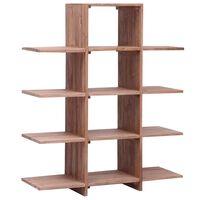 vidaXL Regał na książki, 100x30x120 cm, lite drewno tekowe