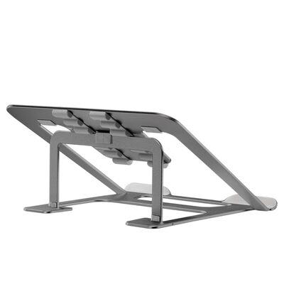 NewStar Składany stojak do laptopa, 10-17'', szary