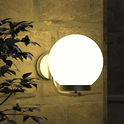 Lampa ogrodowa ścienna - wysokość 32 cm
