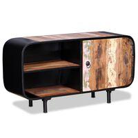 vidaXL Szafka pod telewizor, drewno z odzysku, 90x30x48 cm