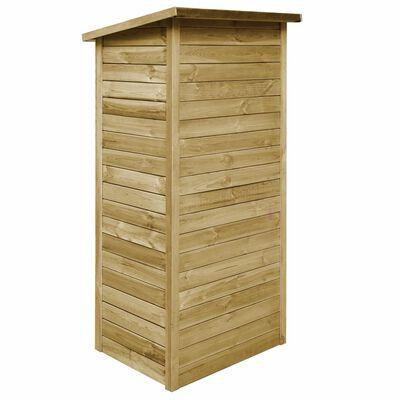 vidaXL Szopa ogrodowa z impregnowanego drewna sosnowego, 88x76x175 cm