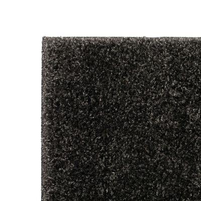 vidaXL Dywan shaggy, 140 x 200 cm, antracytowy