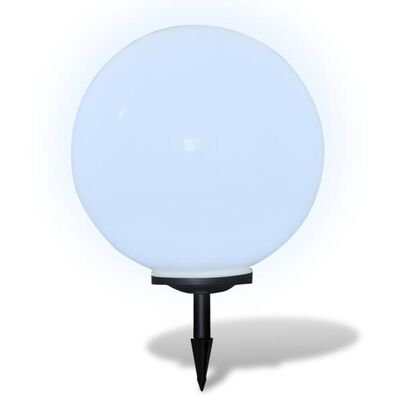 vidaXL Zewnętrzna lampa solarna LED, kula, 50 cm, 1 szt., z bolcem
