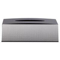 Sealskin Pudełko na chusteczki Speckles, czarne, 361890819