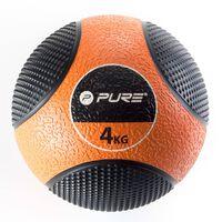 Pure2Improve Piłka lekarska, 4 kg, pomarańczowa