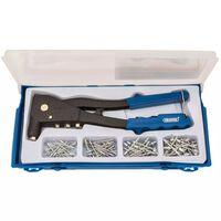 Draper Tools Zestaw do nitowania, niebieski, 27843