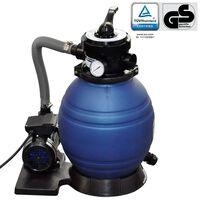 vidaXL Piaskowa pompa filtrująca, 400 W, 11000 L/h