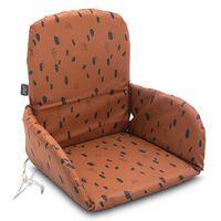 Jollein Poduszka na krzesełko do karmienia Spot, karmelowa