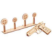 Wood Trick Drewniany model broni, zestaw modelarski
