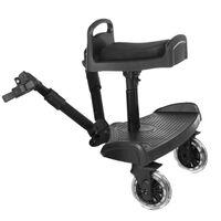 Baninni Dziecięca dostawka do wózka Passo, czarny BNSTA005-BK