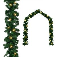 vidaXL Świąteczna girlanda z lampkami LED, 5 m