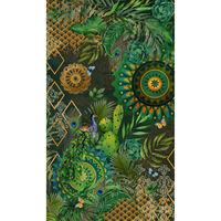 HIP Ręcznik plażowy BOTALIA, 100x180 cm, zielony