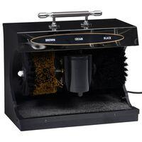vidaXL Elektryczna maszyna do czyszczenia butów, automatyczna, czarna