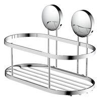 EISL Koszyk prysznicowy, chromowy, 22 x 11 x 13 cm