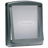 PetSafe Dwustronne drzwi dla zwierząt 777, L 35,6 x 30,5 cm, srebrne