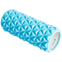 Pure2Improve Wałek do jogi, 33 x 14 cm, niebiesko-biały