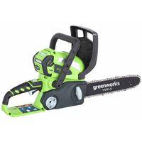 Greenworks Piła łańcuchowa bez akumulatora 40 V, G40CS30, 30 cm, 20117
