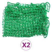 vidaXL Siatki transportowe, 2 szt., 2,5x3,5 m, PP