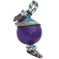 Jolly Pets Piłka dla psa Romp-n-Roll, 20 cm, fioletowa