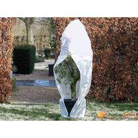 Nature Kaptur ochronny na rośliny z zamkiem, 70 g/m², biały 2,5x2x2m