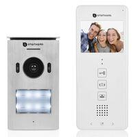 Smartwares Wideodomofon do 1 mieszkania, 20,5x8,6x2,1 cm, biały