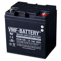 VMF Akumulator głębokiego rozładowania AGM, 12 V, 28 Ah, DC28-12S