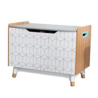 KidKraft Skrzynia Mid-Century Modern, szara, 73,99x46x55,88 cm