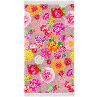 Happiness Ręcznik plażowy WOODSTOCK, 100x180 cm, kolorowy