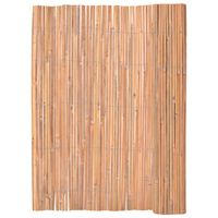 vidaXL Ogrodzenie z bambusa, 125x400 cm