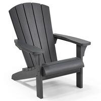 Keter Krzesło typu Adirondack Troy, grafitowe