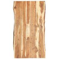 vidaXL Blat, lite drewno akacjowe, 120x(50-60)x3,8 cm