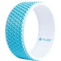 Pure2Improve Koło do jogi, 34 cm, niebiesko-białe