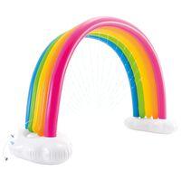 Intex Zraszacz w formie tęczy Rainbow Cloud, 300x109x180 cm