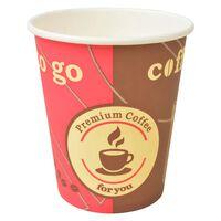 vidaXL Kubki jednorazowe, papierowe, na kawę 1000 szt., 240 ml (8 oz)