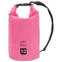 vidaXL Worek wodoszczelny, różowy, 10 L, PVC