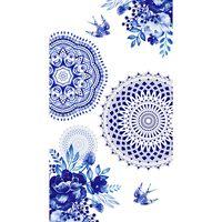 HIP Ręcznik plażowy 6099-H Grande, 100 x 180 cm, niebieski