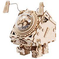 Robotime Pozytywka Seymour w stylu steampunk do samodzielnego złożenia