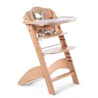 CHILDHOME Wysokie krzesełko 2-w-1 Lambda 3, naturalne