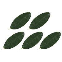 vidaXL Sztuczne liście bananowca, 5 szt., zielone, 80 cm